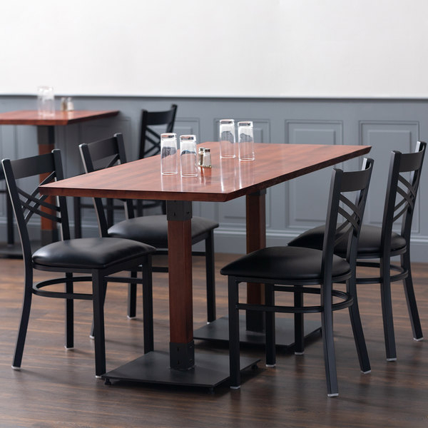 """Lancaster Table & Seating 30"""" X 60"""" Solid Wood Live Edge With Most Recent Elderton 30'' Solid Wood Dining Tables (View 2 of 15)"""