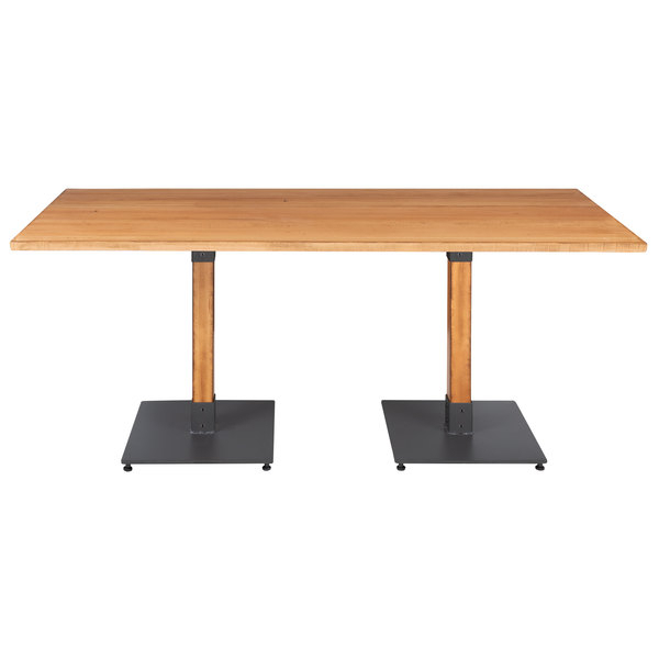 """Lancaster Table & Seating 30"""" X 72"""" Solid Wood Live Edge For 2017 Elderton 30'' Solid Wood Dining Tables (View 4 of 15)"""