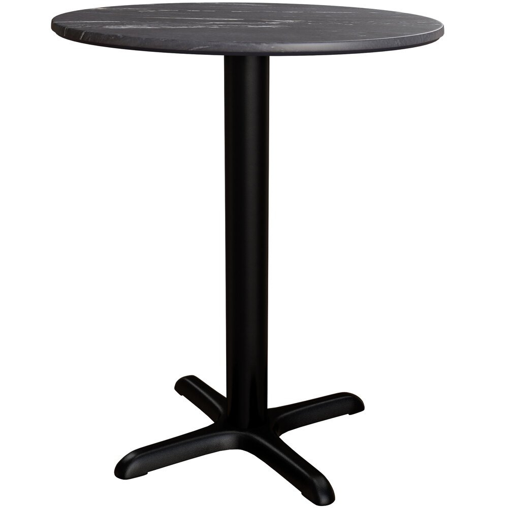 """Lancaster Table & Seating Excalibur 32"""" Round Dining In Most Popular Hemmer 32'' Pedestal Dining Tables (View 13 of 15)"""