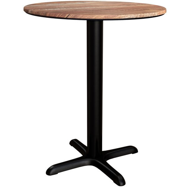 """Lancaster Table & Seating Excalibur 32"""" Round Dining In Newest Hemmer 32'' Pedestal Dining Tables (View 2 of 15)"""