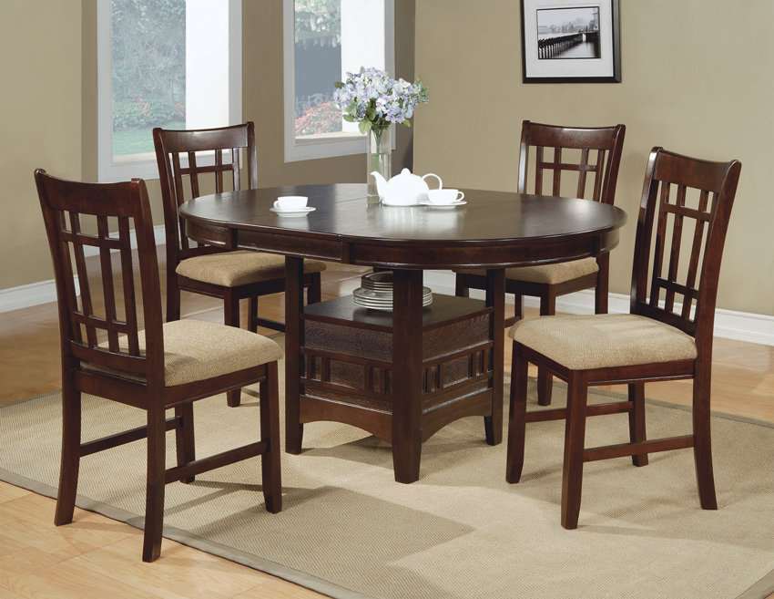 Larkin 5 Piece Dining Set | Round Dining Room, Dining Room Throughout Most Recent Larkin  (View 2 of 15)