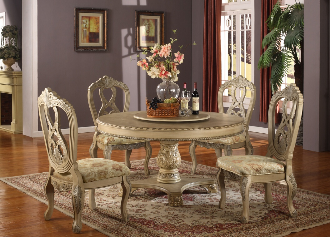 Lavish Antique Dining Room Furniture Emphasizing Classic Inside Most Recent Classic Dining Tables (View 11 of 15)