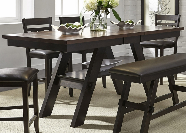 Featured Image of Andreniki Bar Height Pedestal Dining Tables