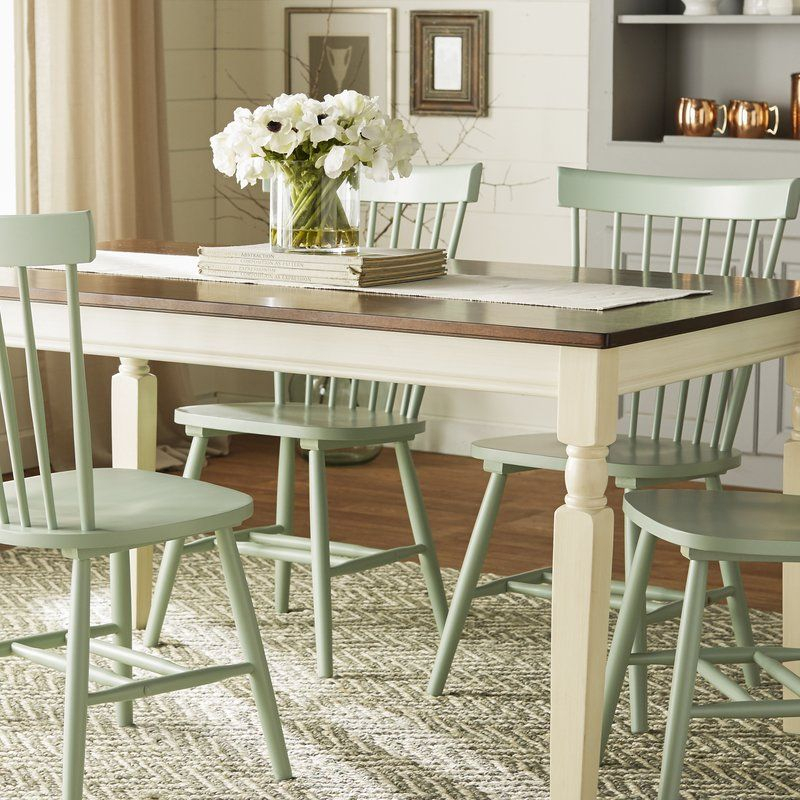 Leamont Dining Table In 2020 | Painted Dining Room Table In Latest Leamont  (View 4 of 12)