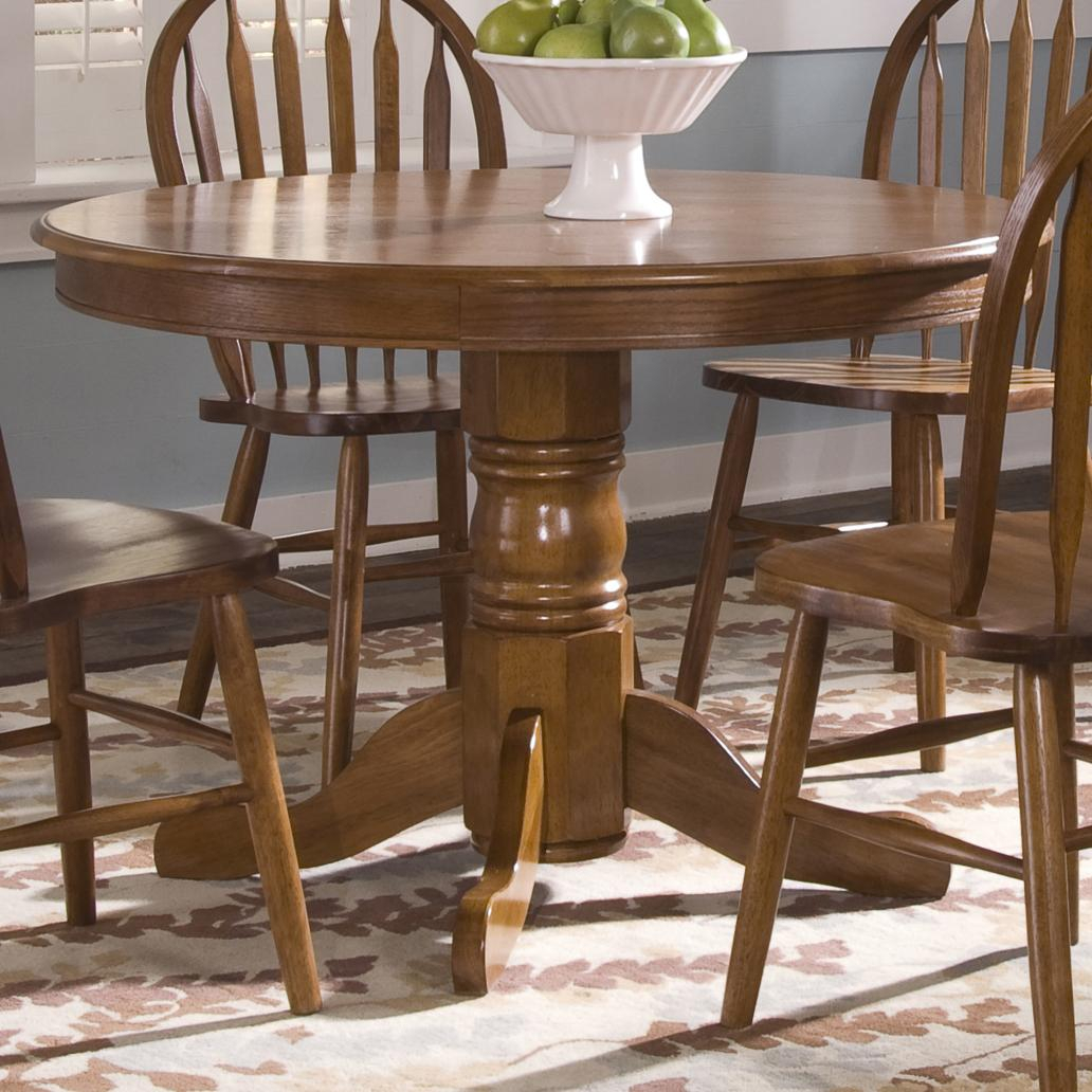 Liberty Furniture Nostalgia Round Pedestal Dining Table Regarding Best And Newest Serrato Pedestal Dining Tables (View 8 of 15)