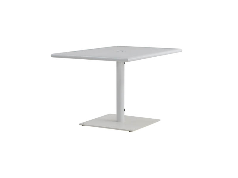 """Linear 32"""" X 48"""" Rectangular Pedestal Dining Table W Throughout Most Current Hemmer 32'' Pedestal Dining Tables (View 11 of 15)"""