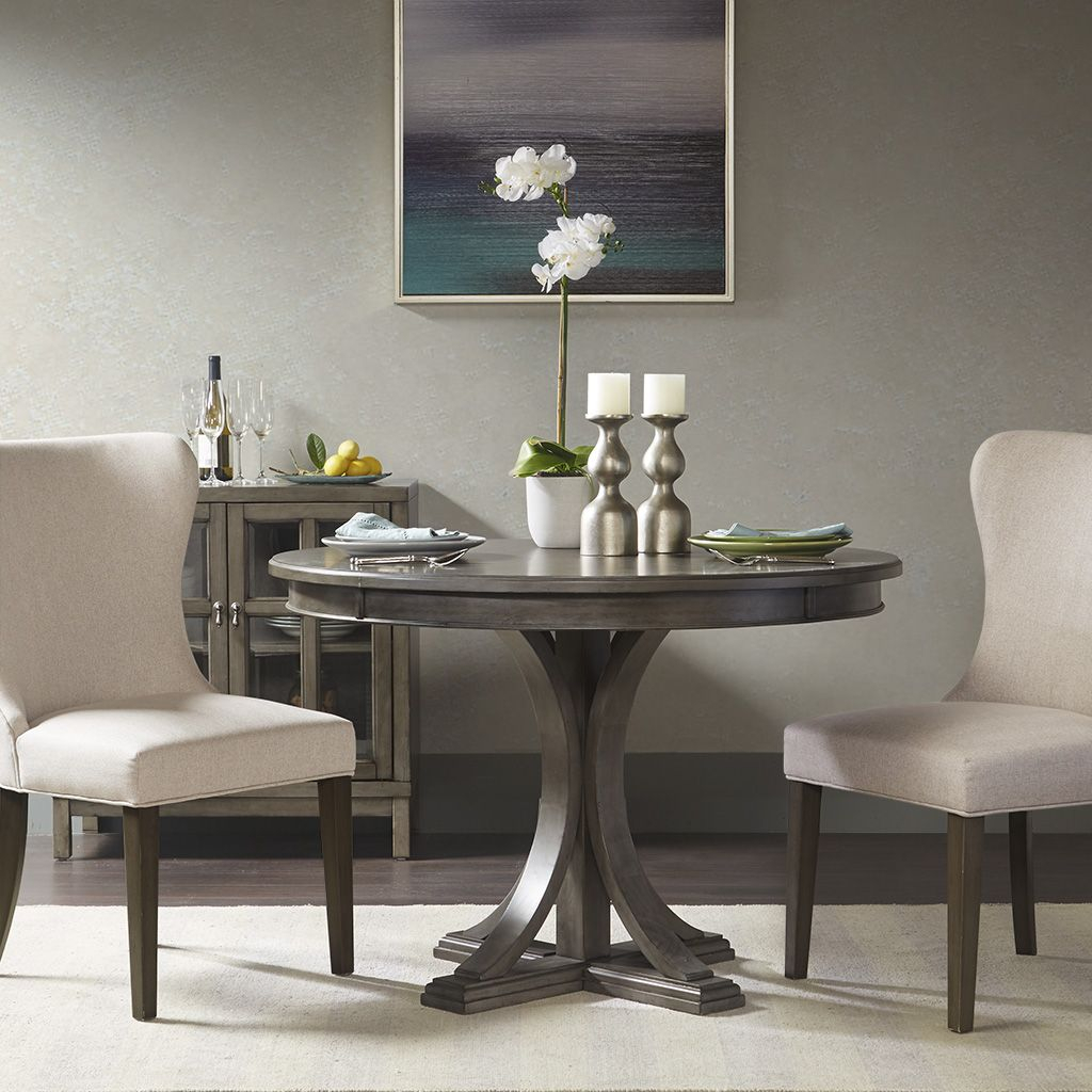 Madison Park Signature Helena Round Dining Table In 2020 Pertaining To Most Recently Released Baring 35'' Dining Tables (View 8 of 15)