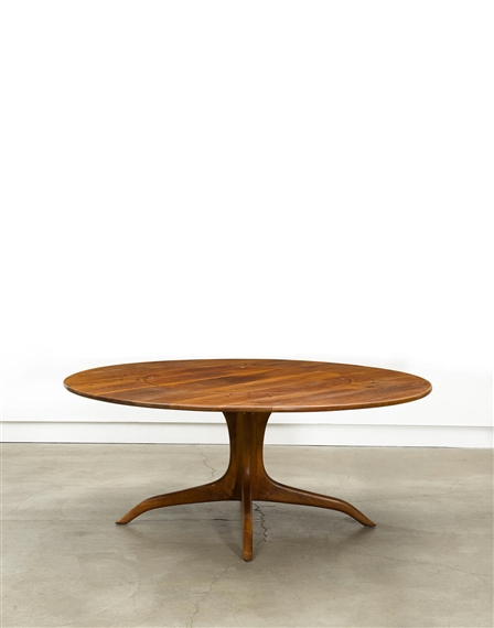 Maloof Sam | Circular Pedestal Dining Table (1979) | Mutualart With Regard To Most Recently Released Steven 55'' Pedestal Dining Tables (View 4 of 15)