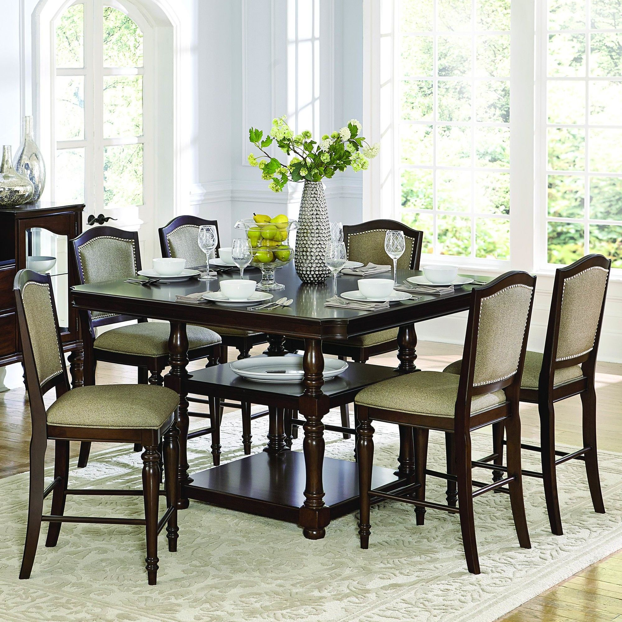 Marable Counter Height Dining Table | Dining Table Throughout Most Up To Date Dawid Counter Height Pedestal Dining Tables (View 10 of 15)