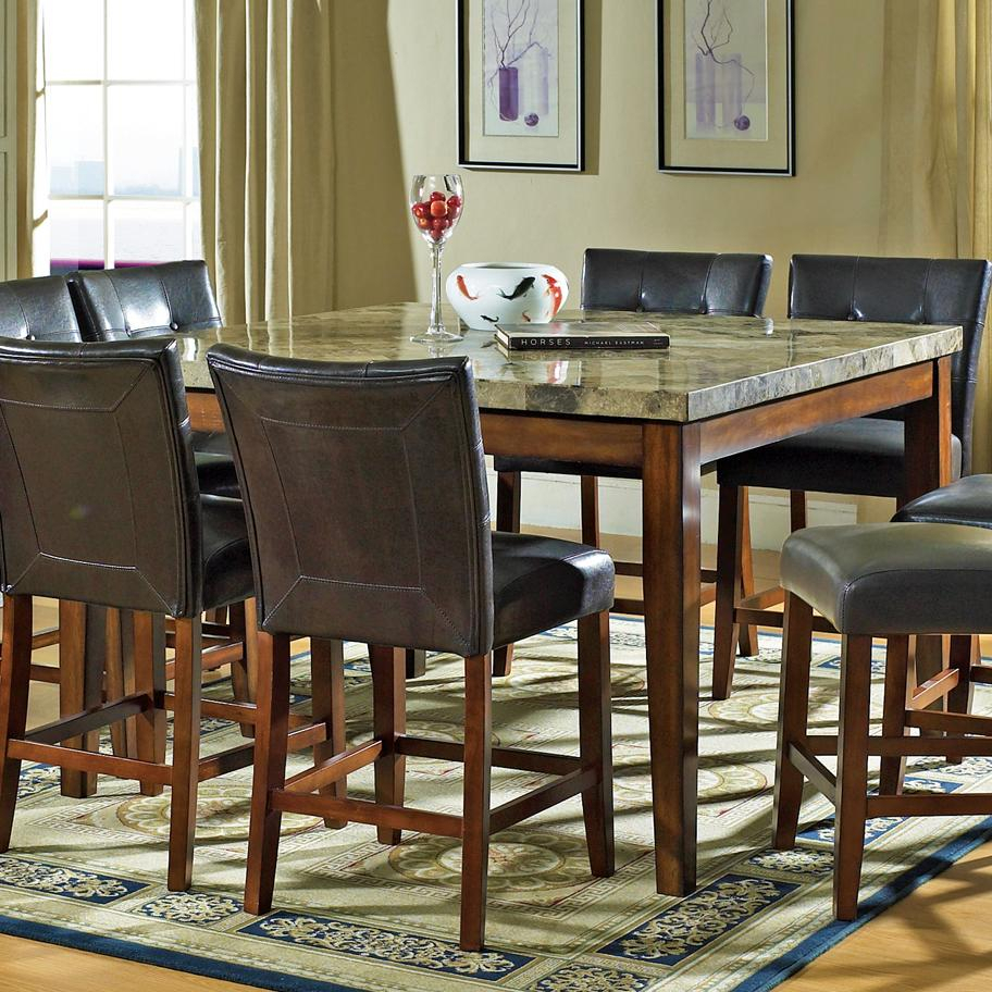 Marble Top Pub Table Sets & Counter Height Table Sets Evas With 2017 Mciver Counter Height Dining Tables (View 8 of 15)