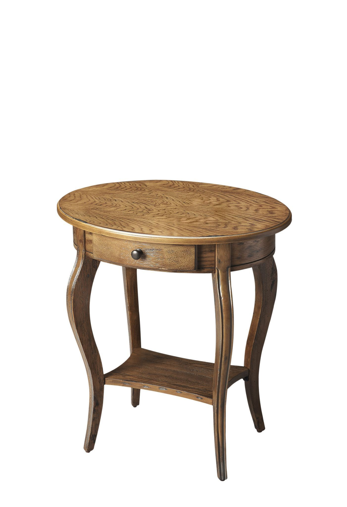 Masterpiece Vibrant Hand Rubbed Finish Side Table | Side Throughout Most Up To Date Keown 43'' Solid Wood Dining Tables (View 13 of 15)