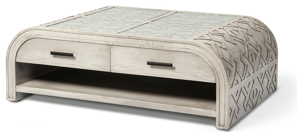 Mercana Moseley Ii Coffee Table – Farmhouse – Coffee Intended For Latest Larkin (View 8 of 15)