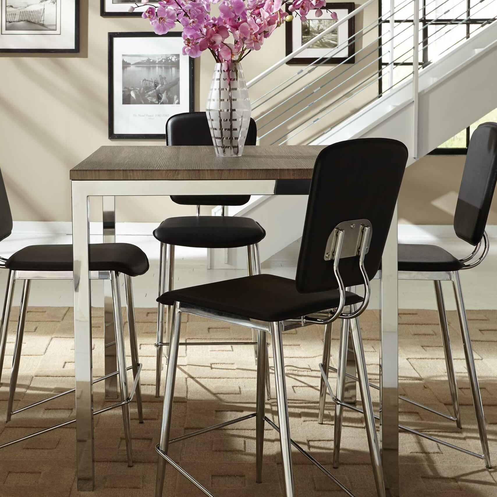 Mercury Row Alameda Counter Height Dining Table & Reviews For Latest Counter Height Dining Tables (View 6 of 15)