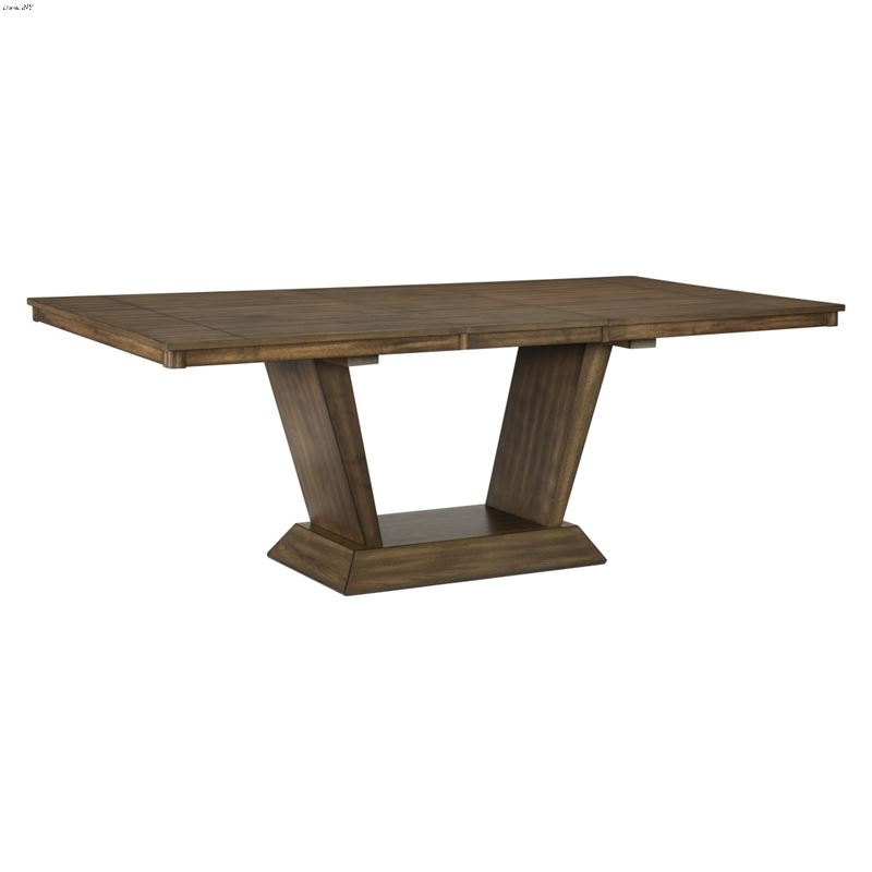 Mesilla Pedestal Dining Table 5689 83Homelegance In Most Recently Released Servin 43'' Pedestal Dining Tables (View 7 of 15)