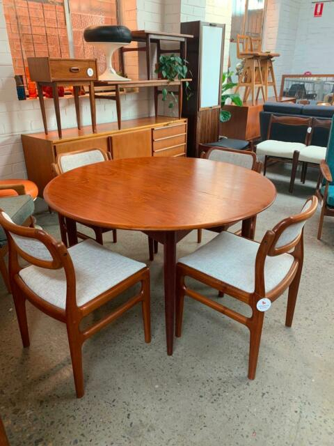 Mid Century Modern Parker Dining Table, 60'S   Dining Regarding Current Yaqub 39'' Dining Tables (View 8 of 15)