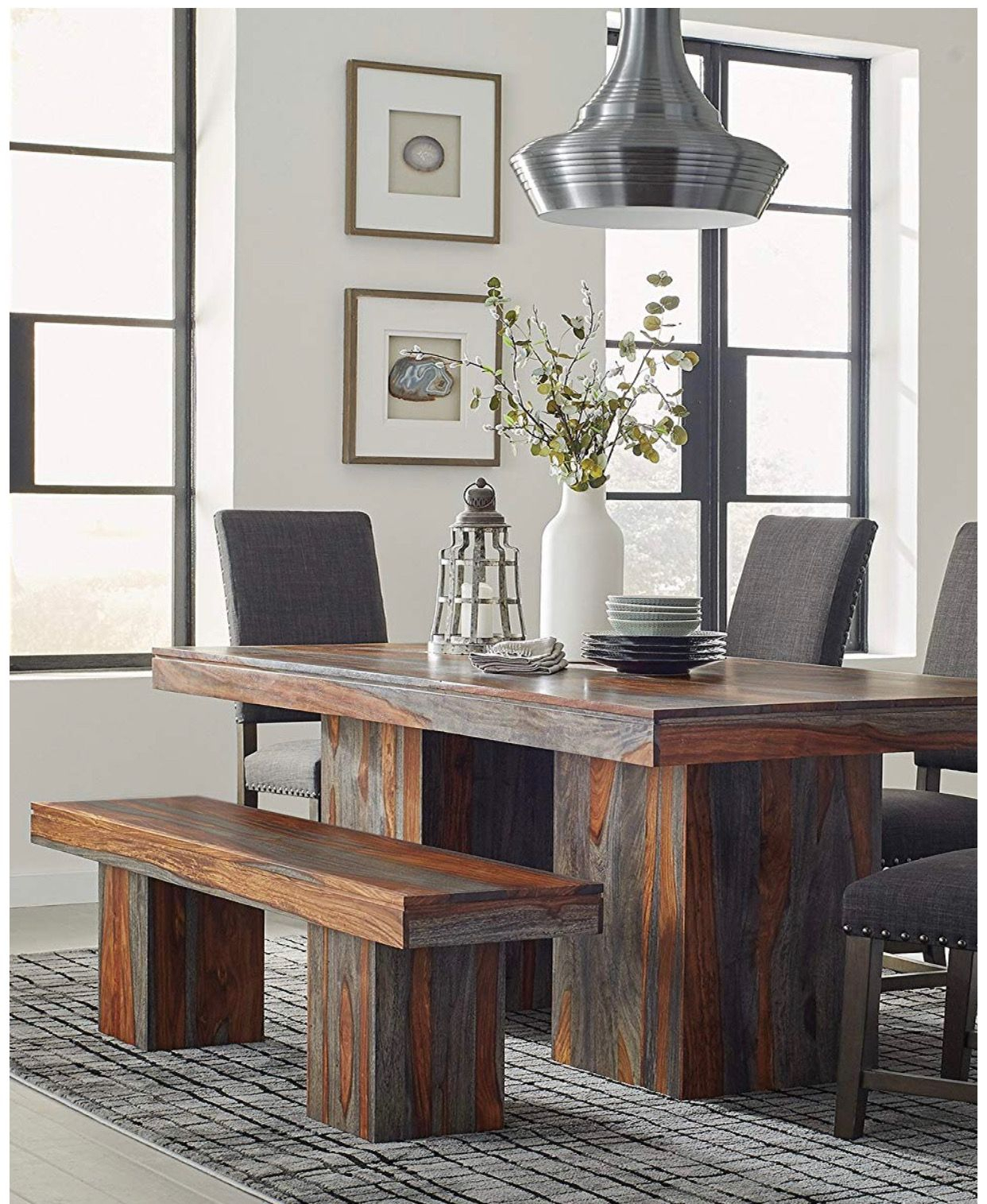 Mine!💕💕 | Dining Table In Kitchen, Solid Wood Dining Table Intended For Most Current Montauk (View 14 of 15)