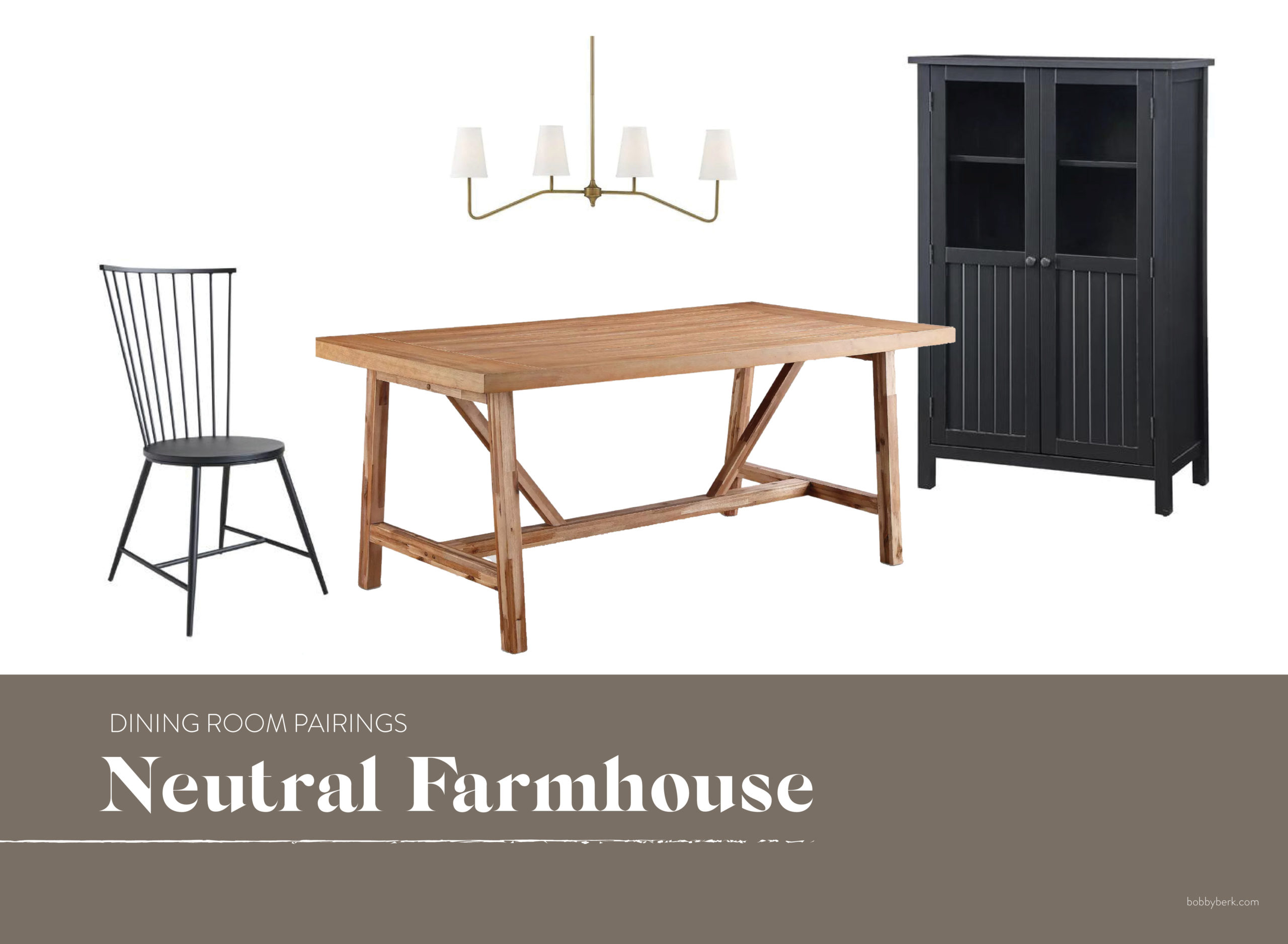 Mixing It Up: 15 Dining Room Pairings For Every Style With Most Popular Bobby Berk Trestle Dining Tables (View 8 of 15)