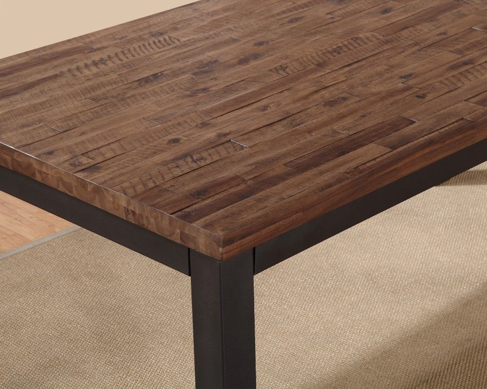 Modus Furniture – Gabe Solid Wood Rectangular Dining Table In Current Getz 37'' Dining Tables (View 11 of 15)