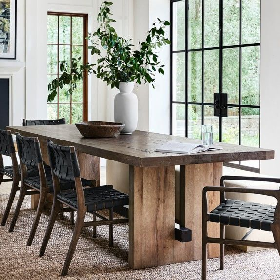 Montauk Rectangular Dining Table In 2020 | Side Chairs Intended For Newest Montauk (View 6 of 15)