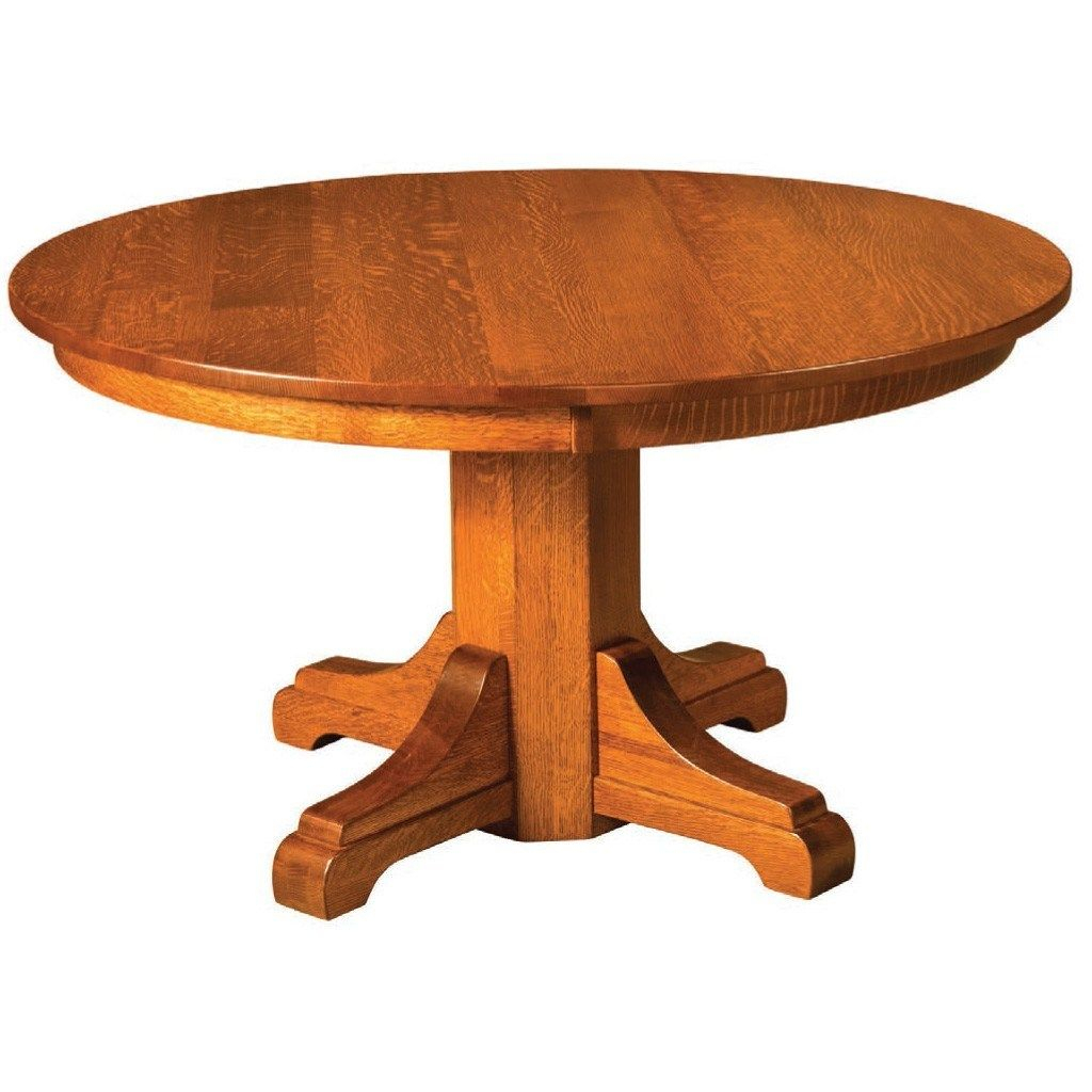 Monteray Split Pedestal Extension Table (With Images With Most Recent Gaspard Extendable Maple Solid Wood Pedestal Dining Tables (View 5 of 15)