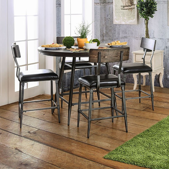 Mullane Counter Height Dining Table Within Recent Dankrad Bar Height Dining Tables (View 3 of 15)