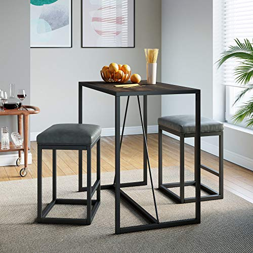 Nathan James Nelson Industrial Counter Height Dining Table Intended For Most Popular Deonte 38'' Iron Dining Tables (View 13 of 15)