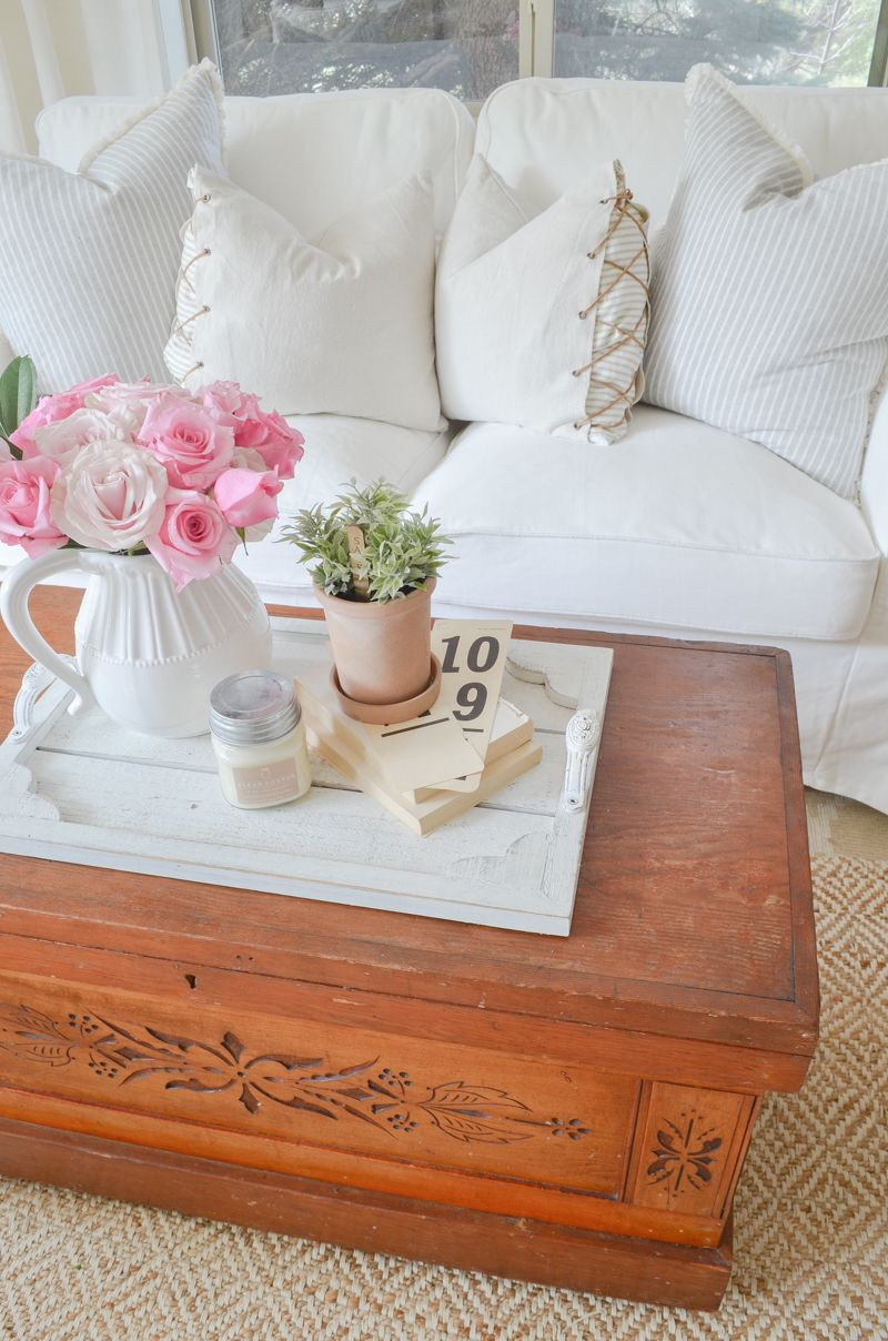 New Vintage Trunk Coffee Table   Repurposed Furniture Regarding 2018 Mcloughlin Dining Tables (View 12 of 15)