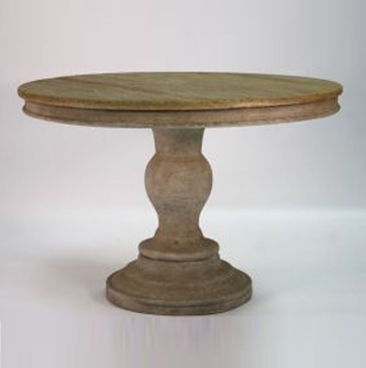 Normandy Washed Wood Dining Table (43 W X (View 3 of 15)
