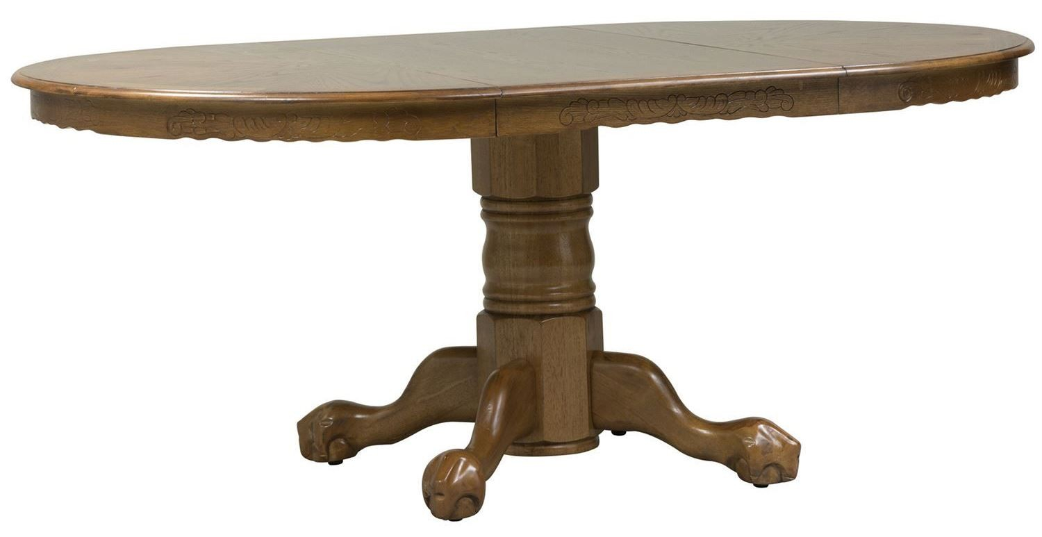 Nostalgia Single Pedestal Dining Table From Liberty (10 In Most Recently Released 28'' Pedestal Dining Tables (View 4 of 15)