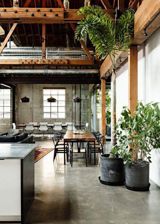 Notre Intérieur Passe En Mode Jardin D'Hiver | Warehouse With Most Recent Mode Breakroom Tables (View 11 of 15)
