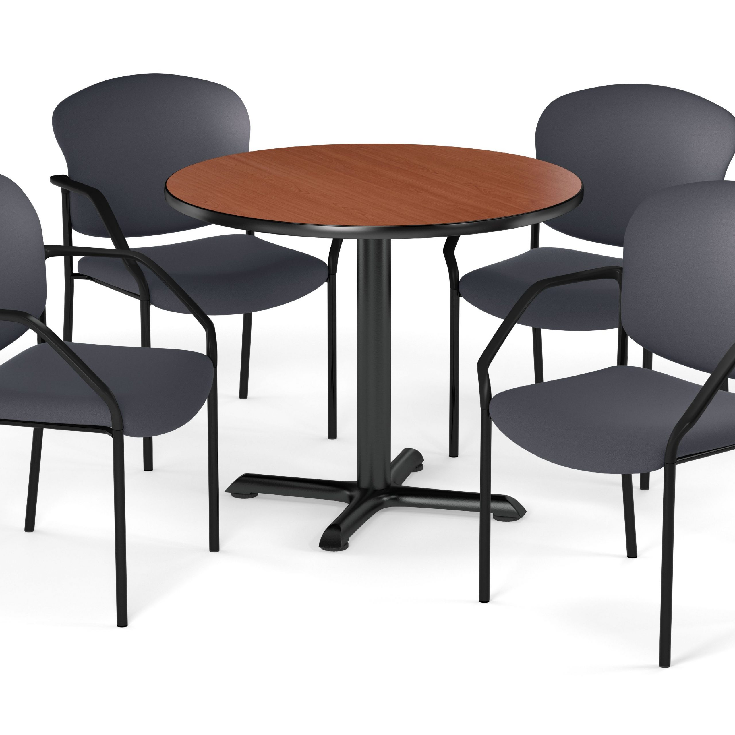 """Ofm Multi Use Break Room Package, 42"""" Round Table With Inside Most Current Mode Round Breakroom Tables (View 13 of 15)"""