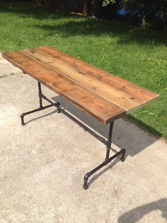 Orchard Farmhouse Table Reclaimed Wood Dining Table With Intended For Most Popular Dellaney 35'' Iron Dining Tables (View 10 of 15)
