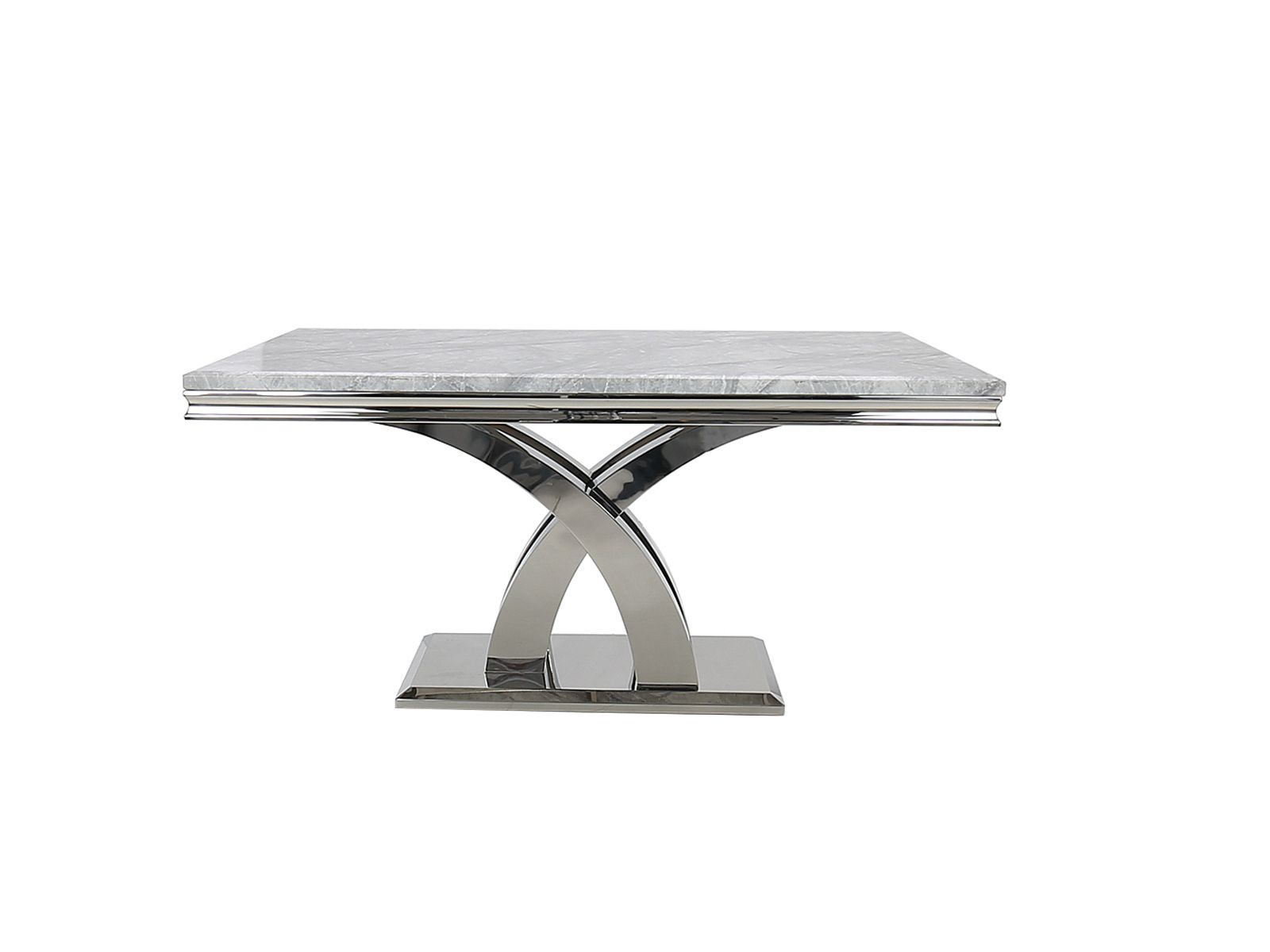 Ortona Dining Table (160Cm) (Grey) Pertaining To Latest Genao 35'' Dining Tables (View 10 of 15)
