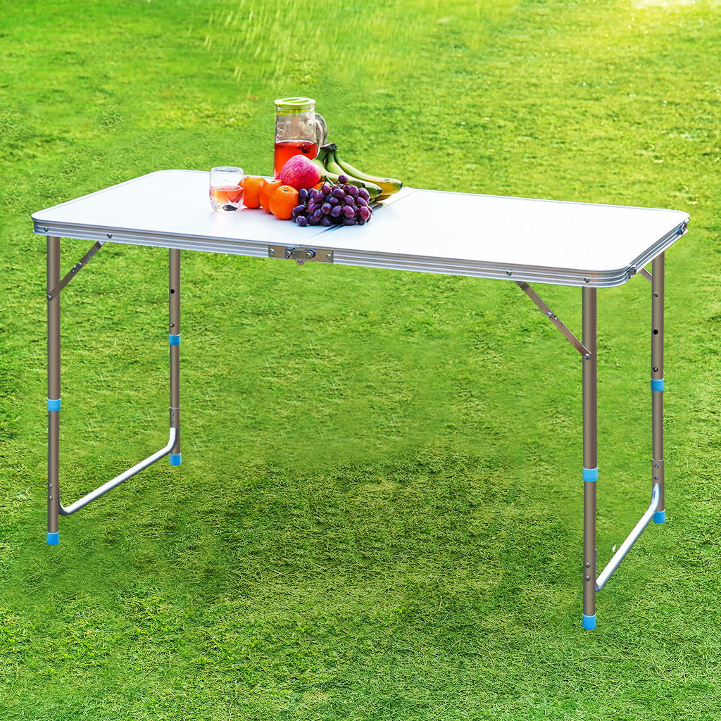 """Outdoor Garden Party Aluminum Portable Folding Camping For 2018 Cheetah Sourcing Square 23.6"""" L X (View 7 of 9)"""