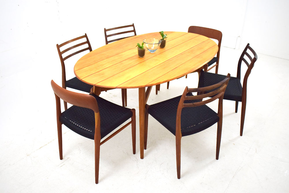 Oval Shaped Dining Table | Solid Maple & Mahogany For Best And Newest Tylor Maple Solid Wood Dining Tables (View 3 of 15)