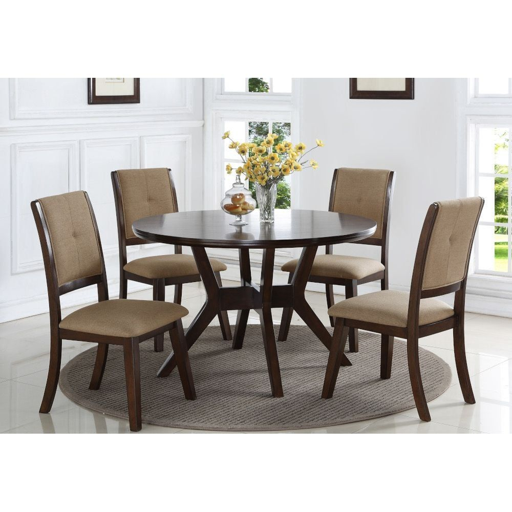 Park City Dining – Dining Table & 4 Dining Chairs In 2018 Tudor City 28'' Dining Tables (View 10 of 15)