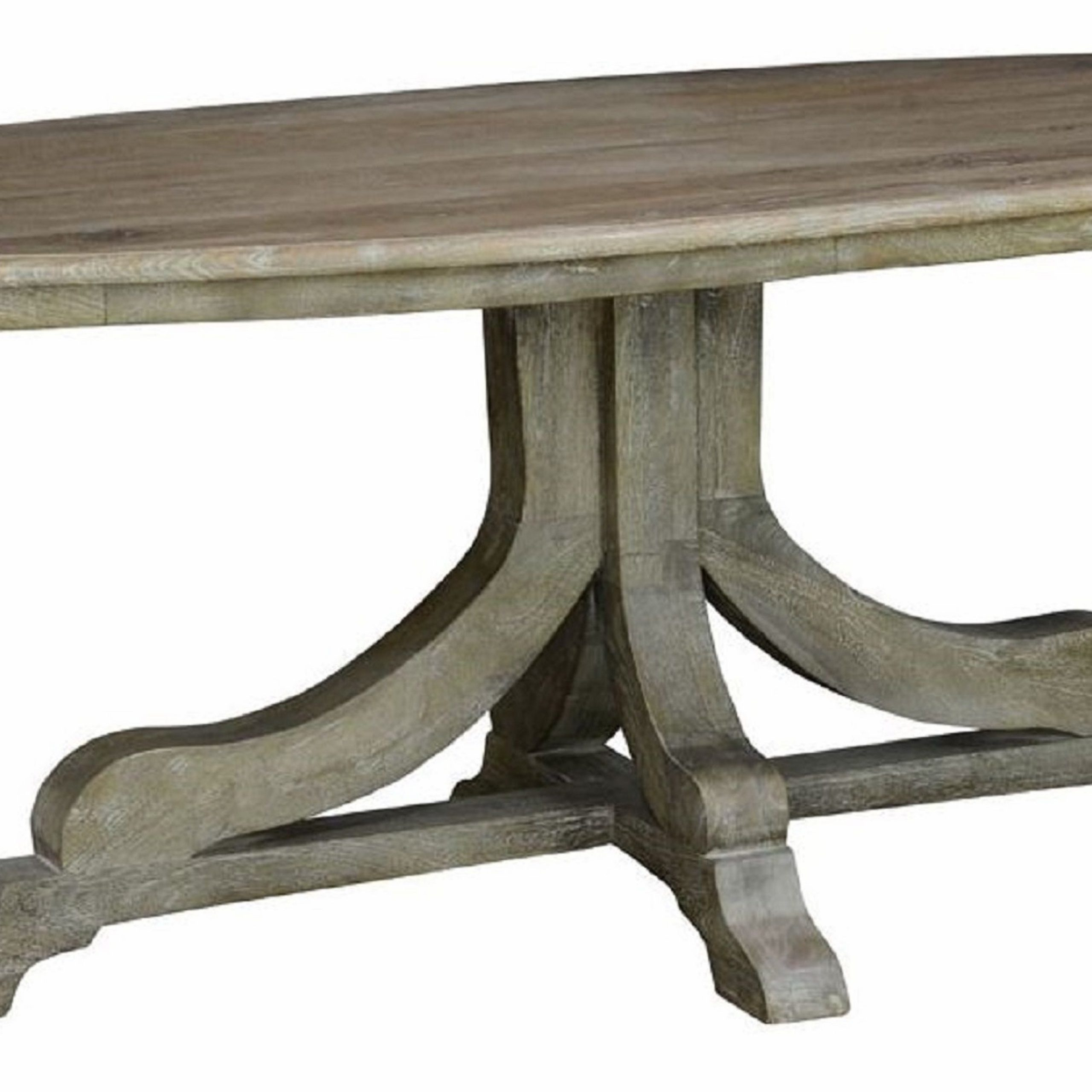 Pedestal Tables Oval Pedestal Dining Table – Contemporary Inside Best And Newest Bineau 35'' Pedestal Dining Tables (View 8 of 15)