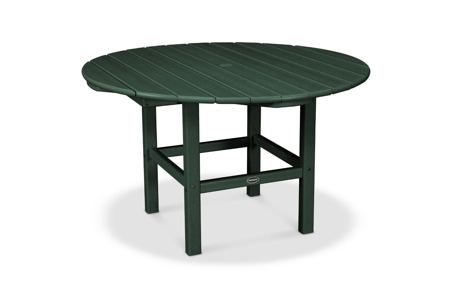 """Polywood 38"""" Kids Dining Table Rkt38 Inside Most Current Deonte 38'' Iron Dining Tables (View 4 of 15)"""