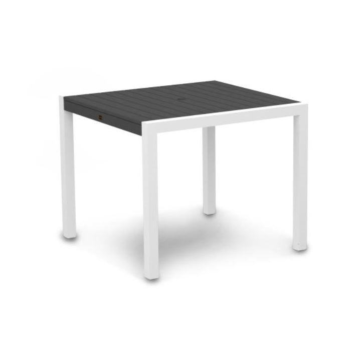 """Polywood® Mod Polyresin 36"""" Dining Table Intended For Most Up To Date Hitchin 36'' Dining Tables (View 7 of 15)"""