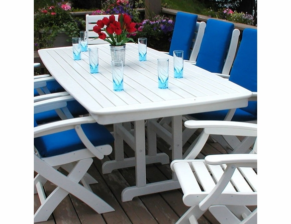 Polywood® Nautical 37 Inch72 Inch Dining Table In Most Current Getz 37'' Dining Tables (View 5 of 15)