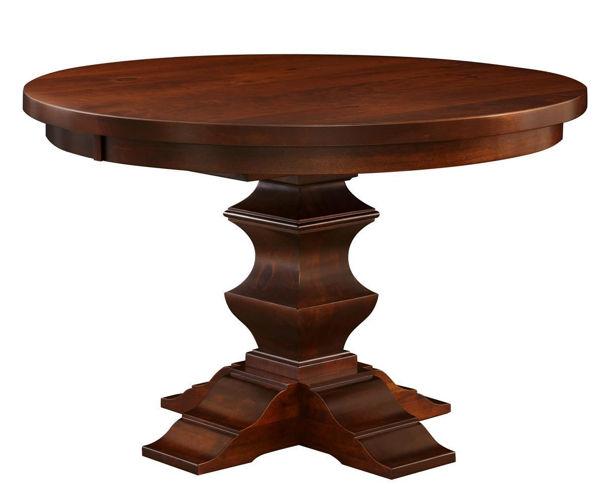Ramsay Single Pedestal Dining Room Table From With Regard To 2018 Pedestal Dining Tables (View 15 of 15)