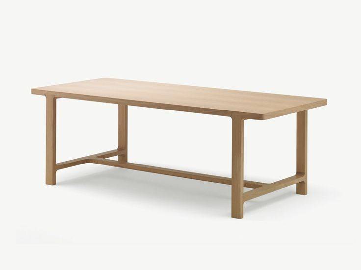 Rectangular Oak Table Emea   Table – Alki (With Images Intended For Most Current Akitomo (View 10 of 15)
