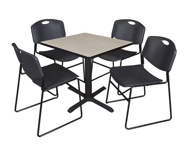 """Regency Rgs Series Breakroom Table – 48"""" Square – Worksmart With Most Recently Released Mode Square Breakroom Tables (View 13 of 15)"""
