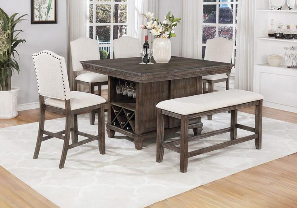 Featured Image of Dallin Bar Height Dining Tables
