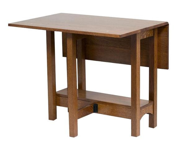 Renwick Gateleg Dining Table From Dutchcrafters Amish Pertaining To Most Up To Date Adams Drop Leaf Trestle Dining Tables (View 6 of 15)