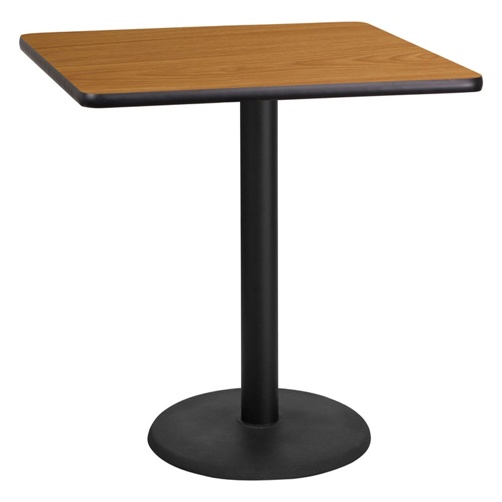 Restaurant Table – Quarx 36 Inch Square Laminate Dining Table Within Recent Pevensey 36'' Dining Tables (View 6 of 15)