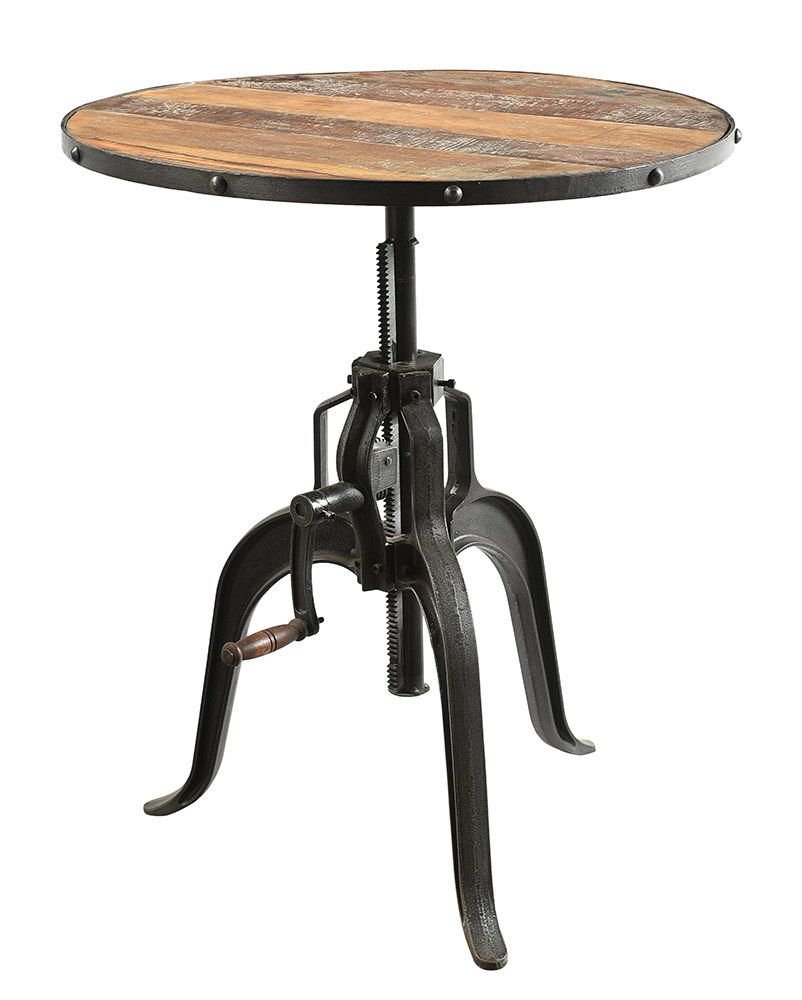 Round Dining Table With | Dining Table, Round Dining Table Inside Most Up To Date Deonte 38'' Iron Dining Tables (View 11 of 15)