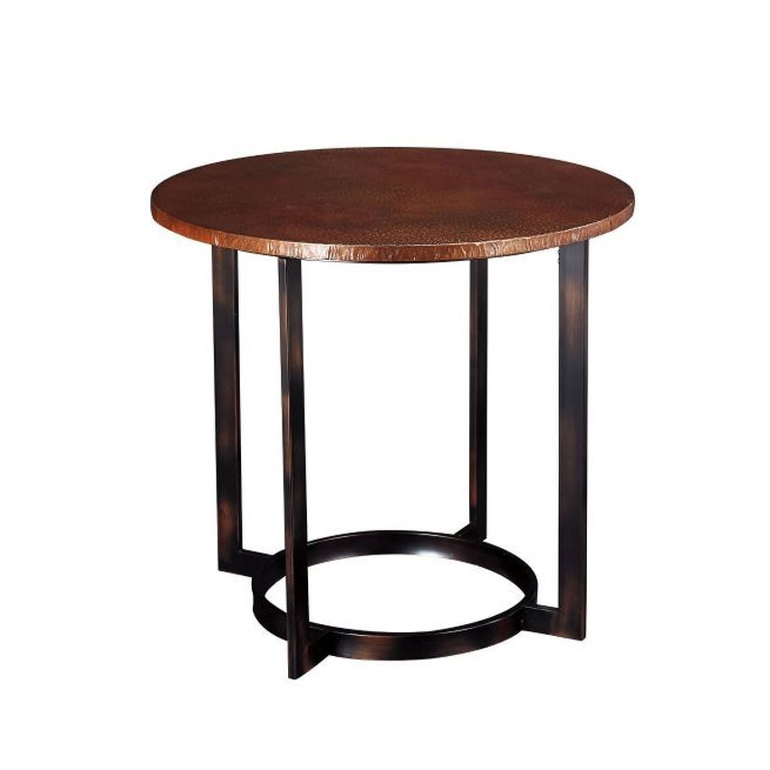 Round End Table | End Tables, Stylish Tables, Table Pertaining To Recent Collis Round Glass Breakroom Tables (View 2 of 15)