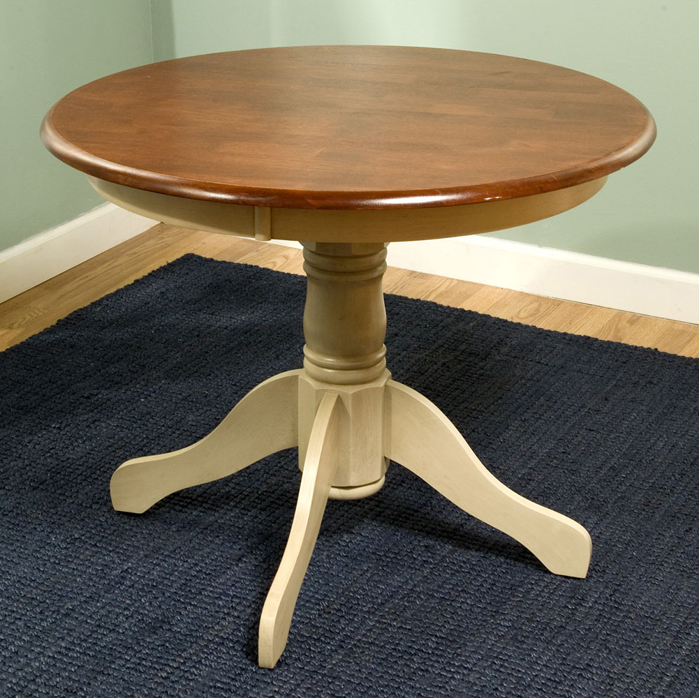 Round Pedestal Dining Table   Table   Designwalls Regarding Most Up To Date Villani Pedestal Dining Tables (View 4 of 15)