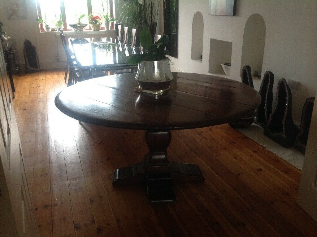 Round Reception Pedestal Table Five Feet In Diameter In Latest Steven 55'' Pedestal Dining Tables (View 11 of 15)
